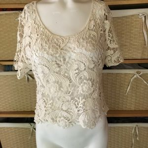 Express Lacey top